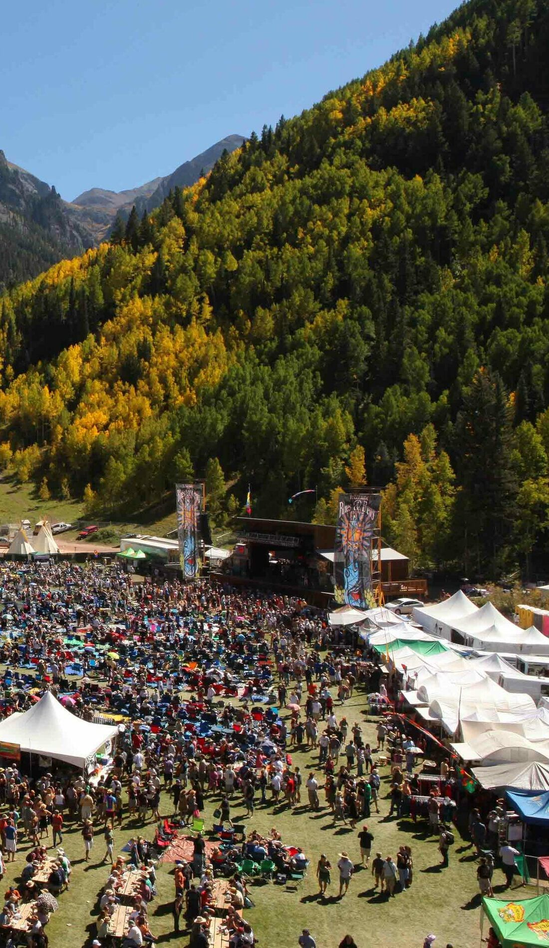A Telluride Blues and Brews Festival live event