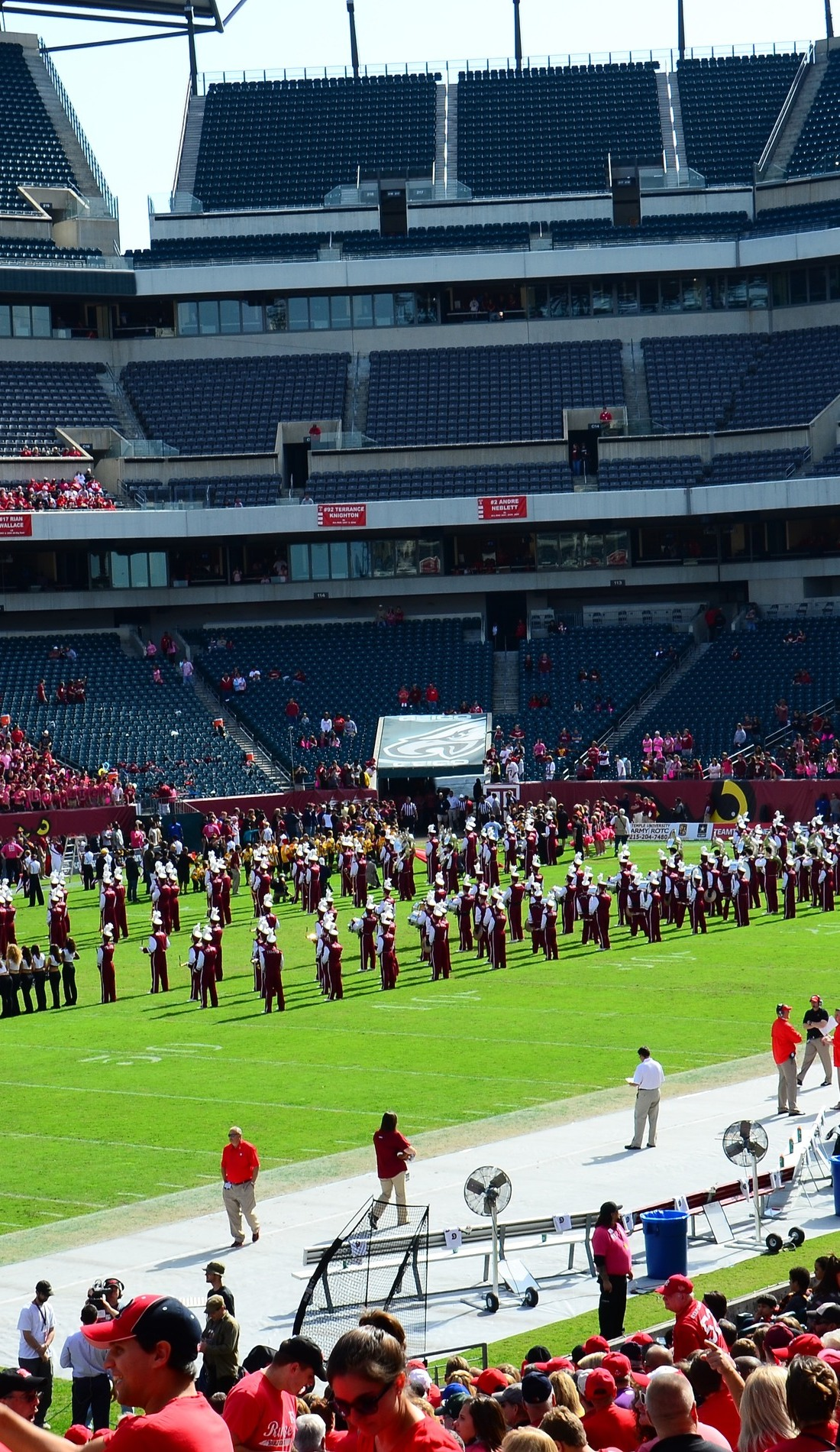A Temple Owls Football live event