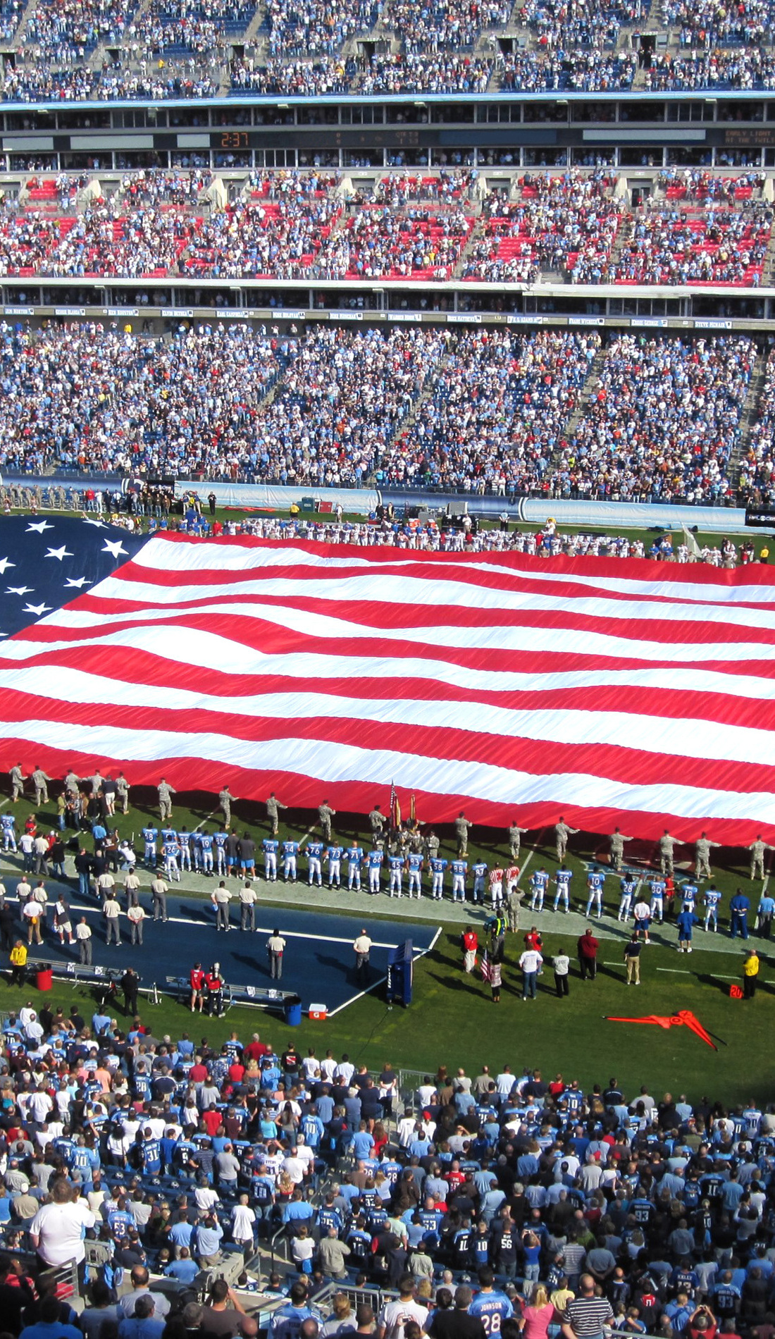 A Tennessee Titans live event