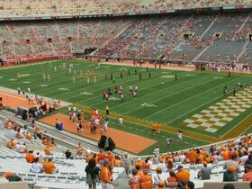 Indiana State Sycamores at Tennessee Volunteers Football