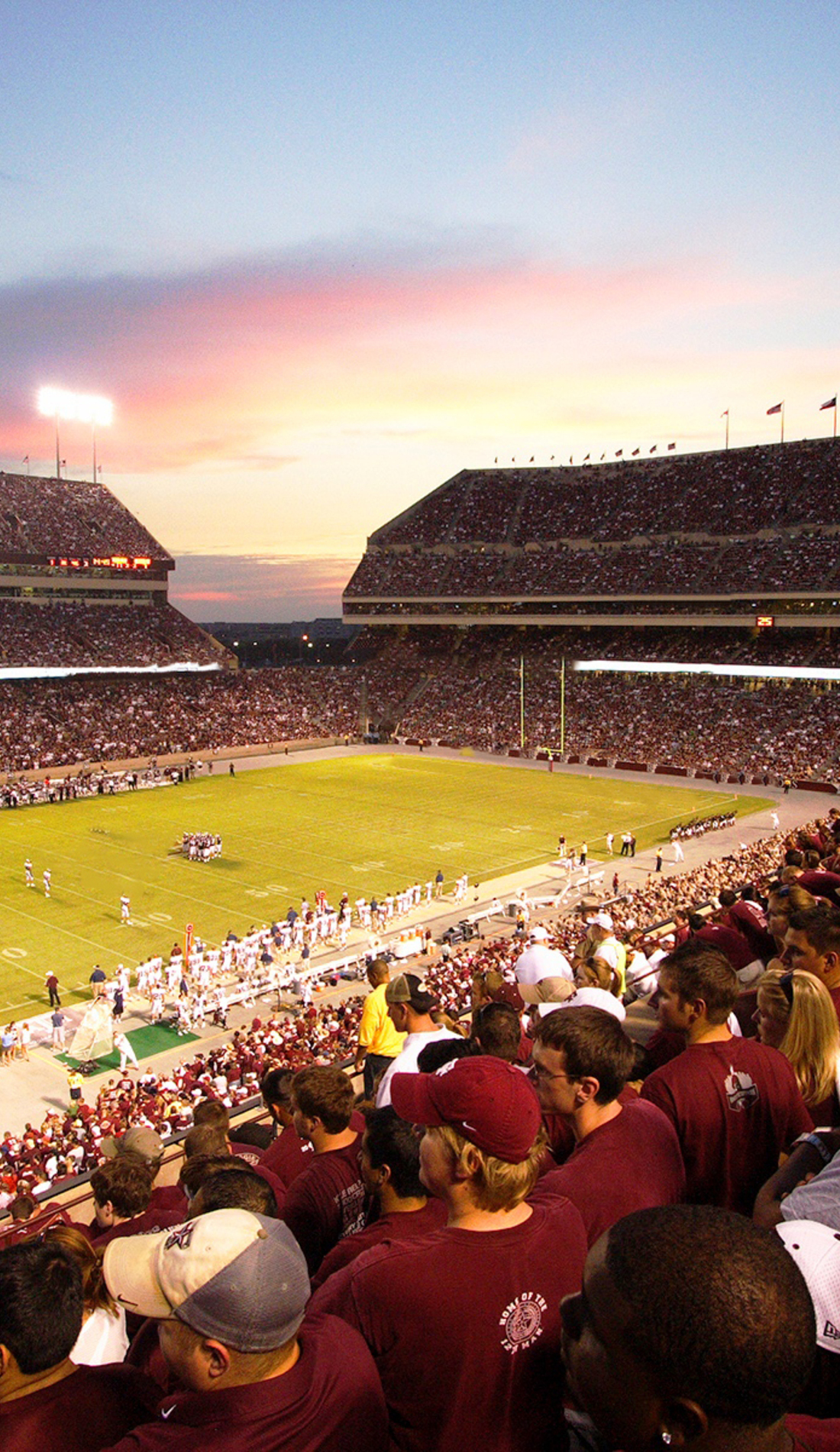 A Texas A&M Aggies Football live event