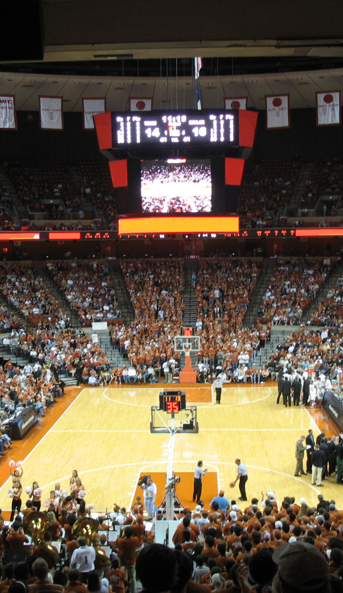 A Texas Longhorns Basketball live event