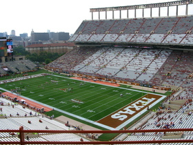 Advertisement - Tickets To Texas Longhorns Football