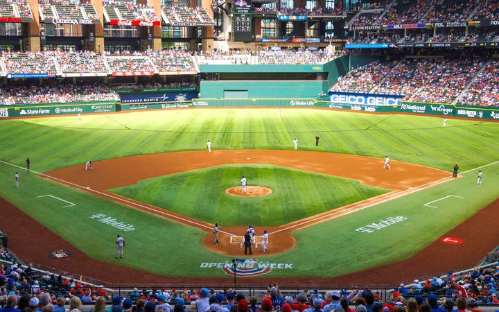 Map Of Texas Rangers Stadium.Texas Rangers Seating Chart Map Seatgeek