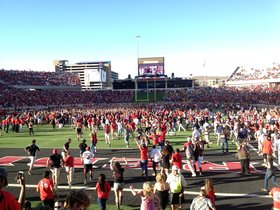 Texas Longhorns at Texas Tech Red Raiders Football