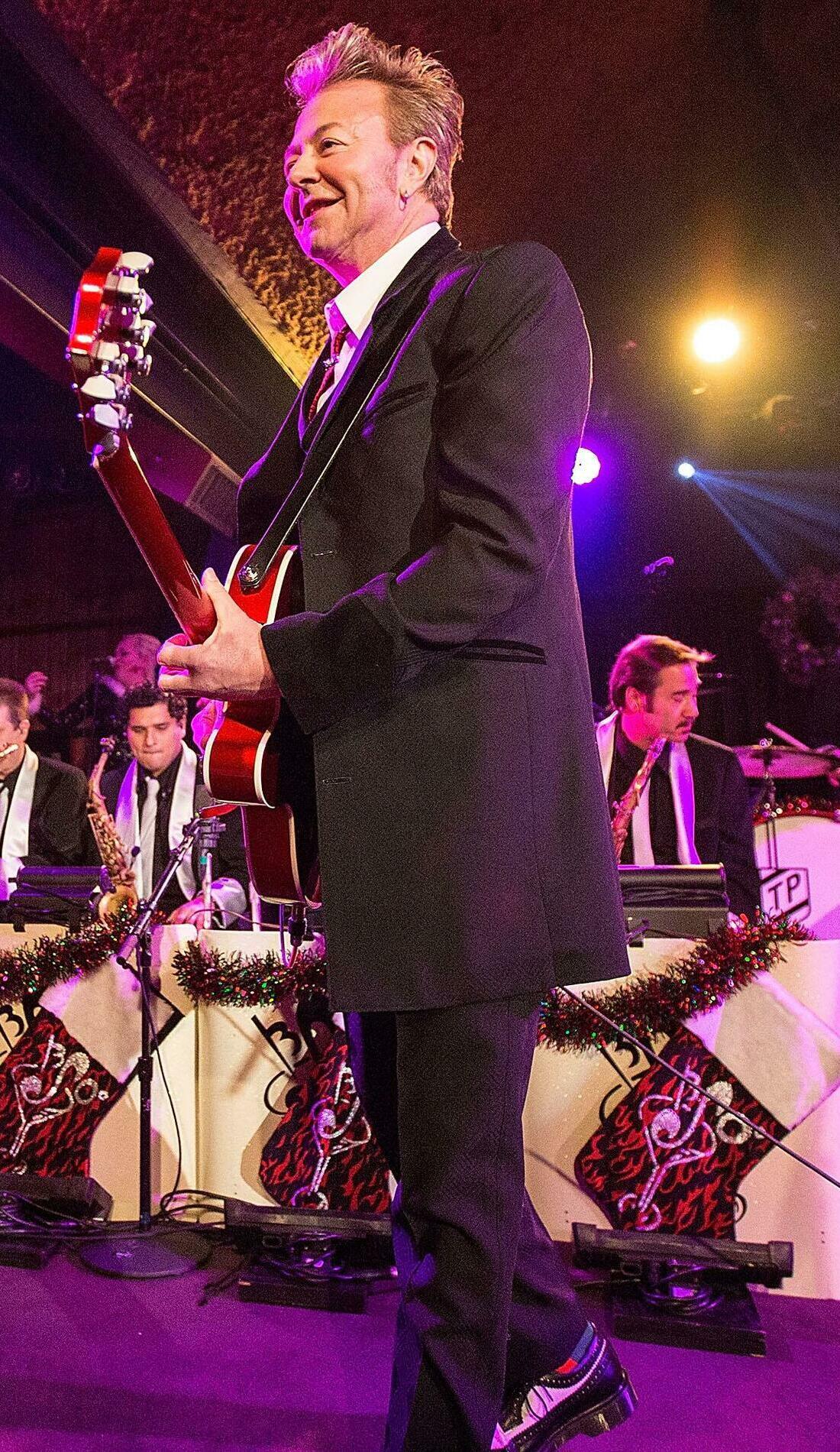 A The Brian Setzer Orchestra live event