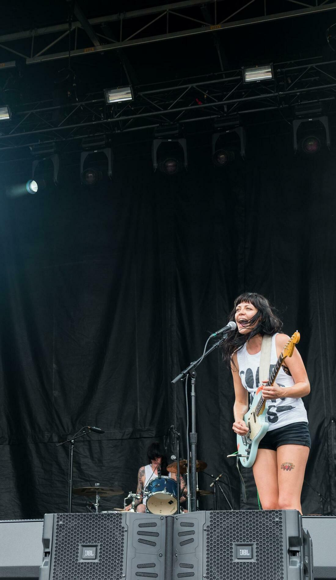 A The Coathangers live event