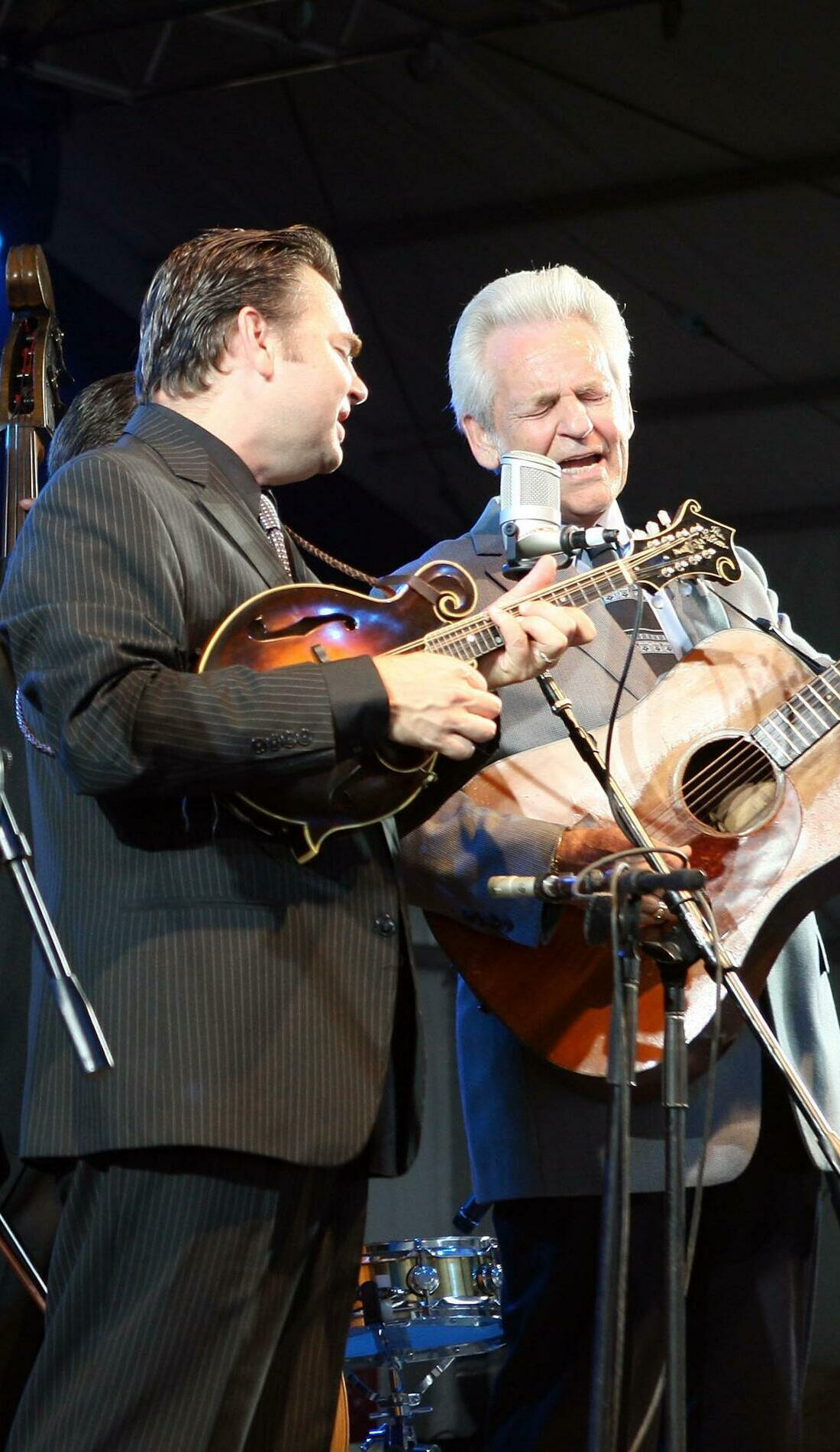 A The Del McCoury Band live event
