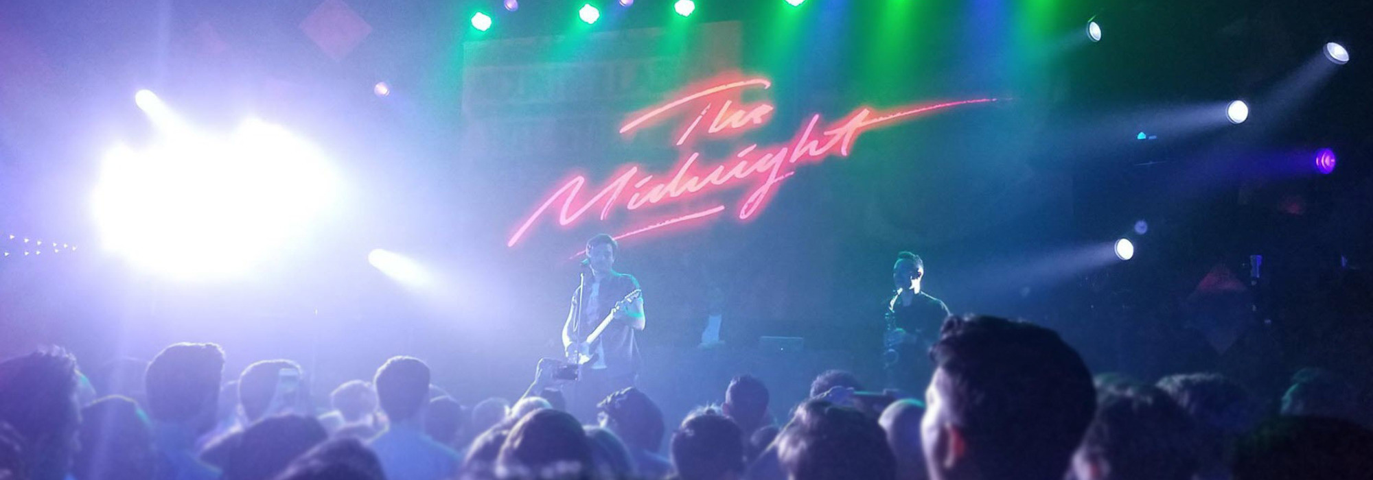 A The Midnight live event