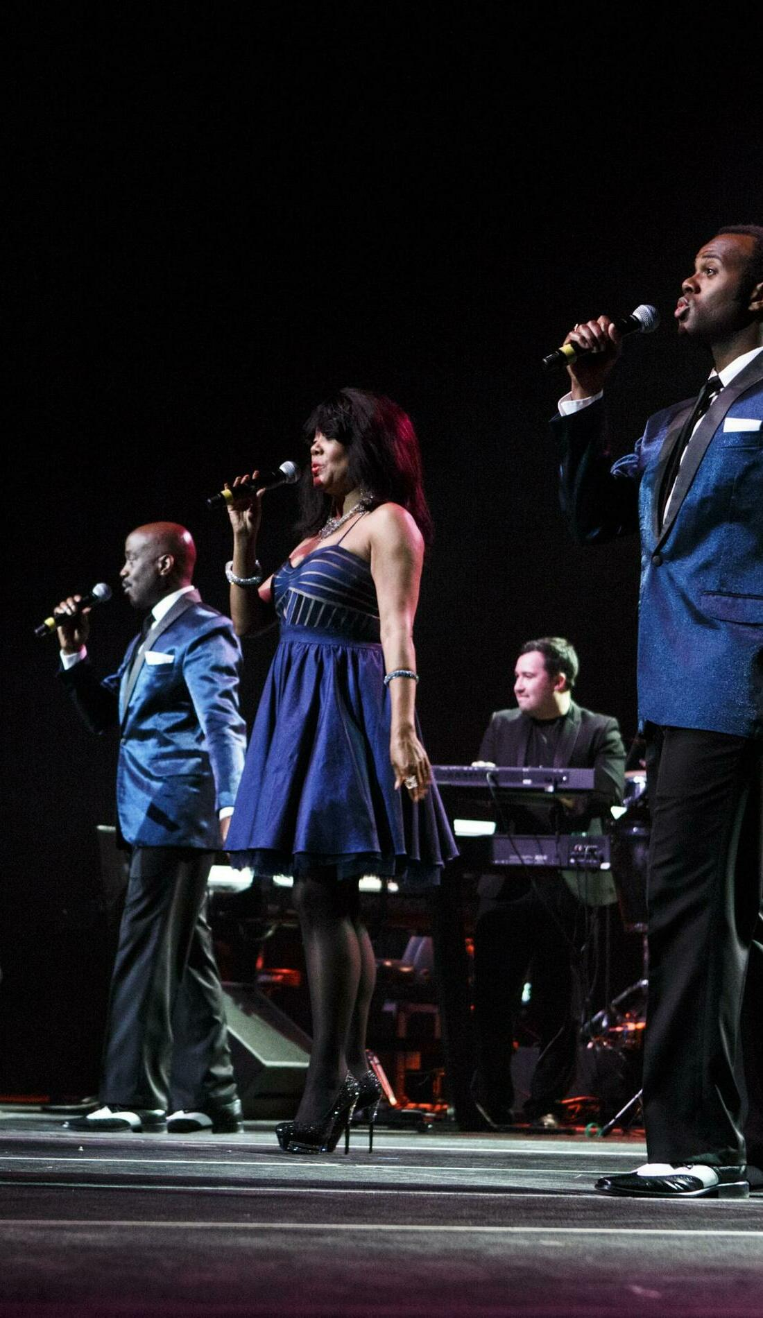 A The Platters live event