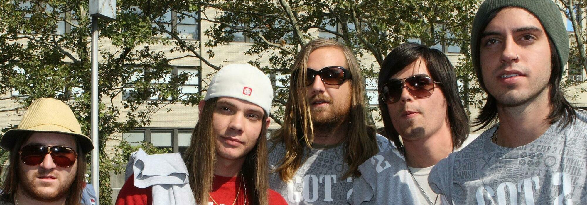 A The Red Jumpsuit Apparatus live event