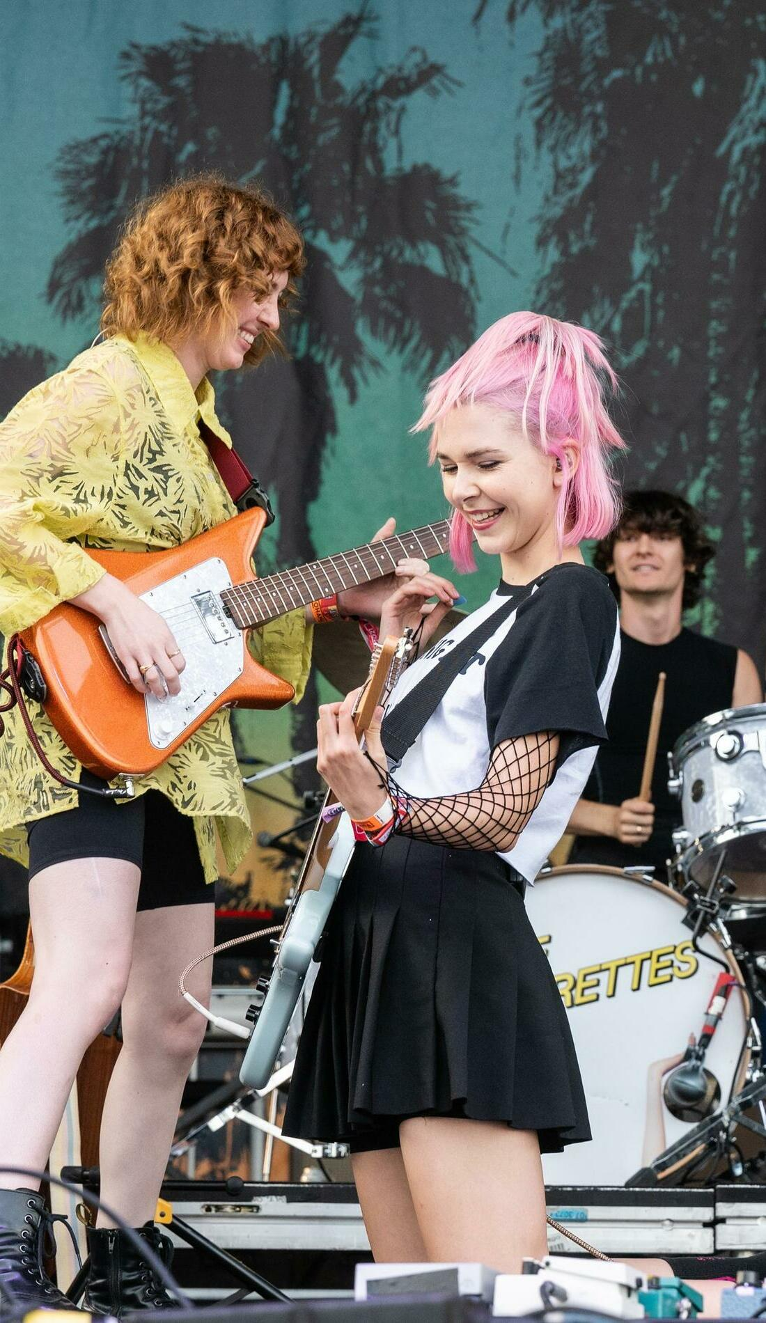A The Regrettes live event
