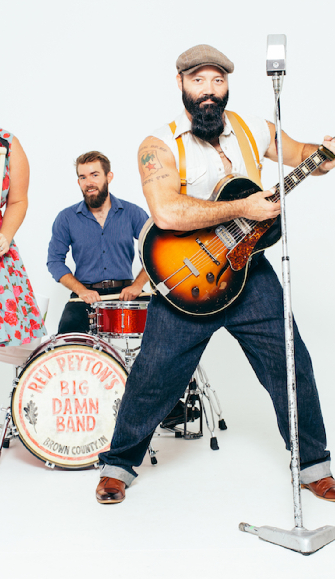 A The Reverend Peyton's Big Damn Band live event