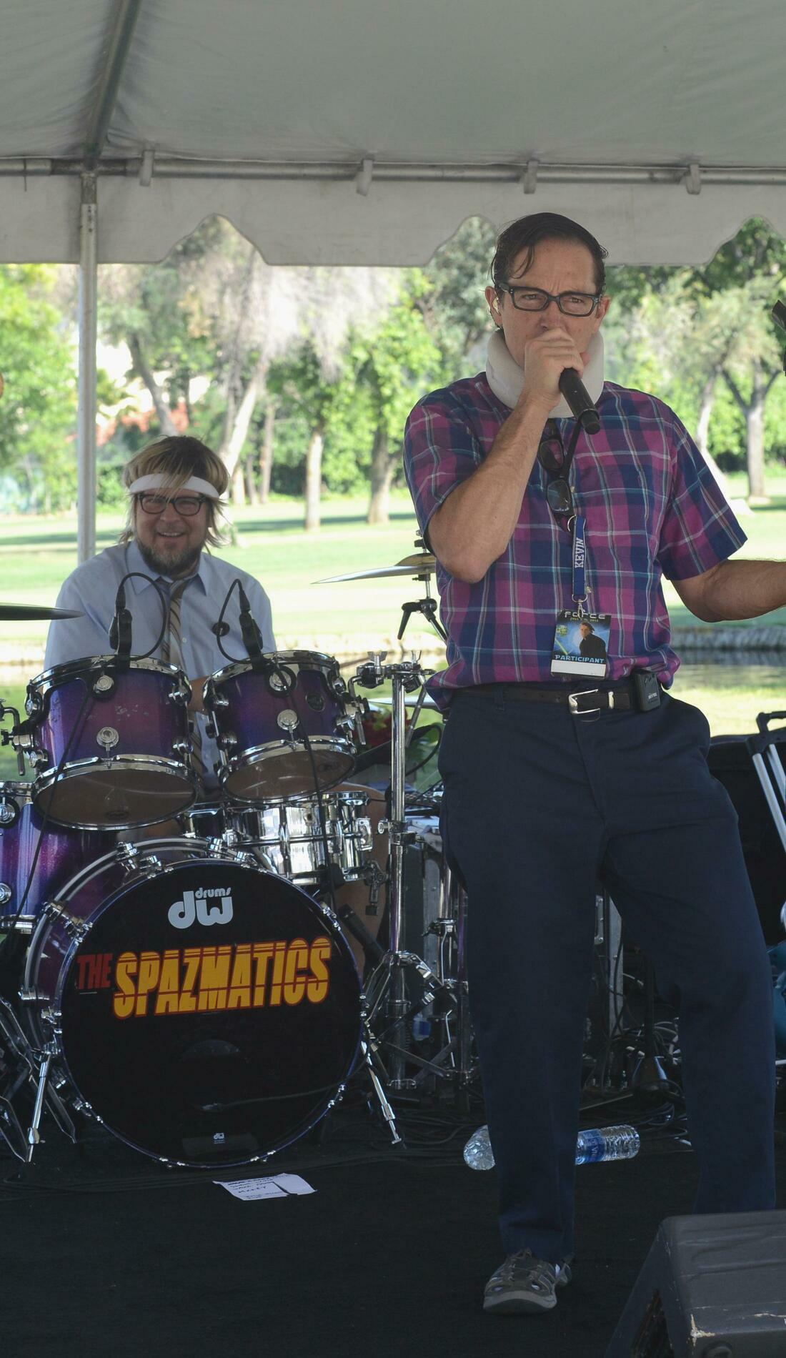 A The Spazmatics live event