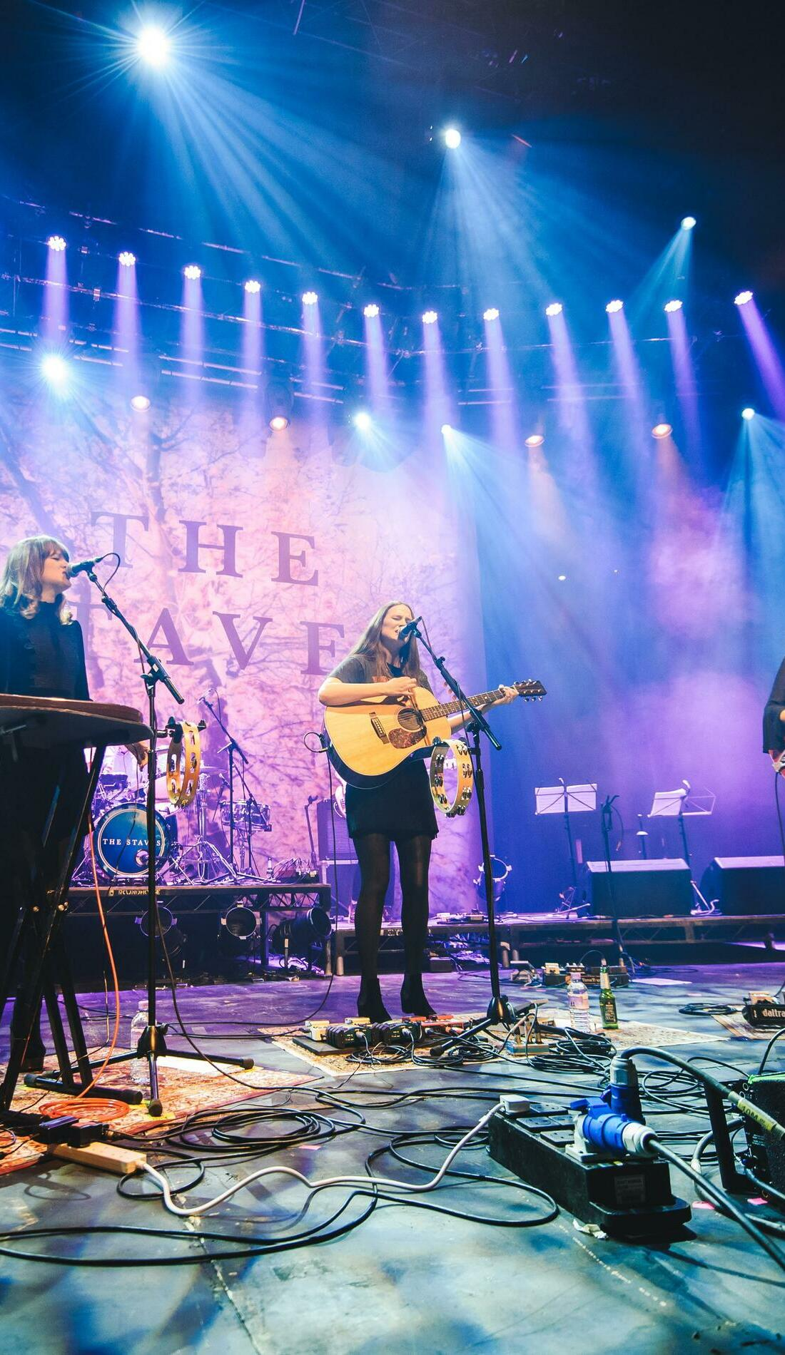 A The Staves live event