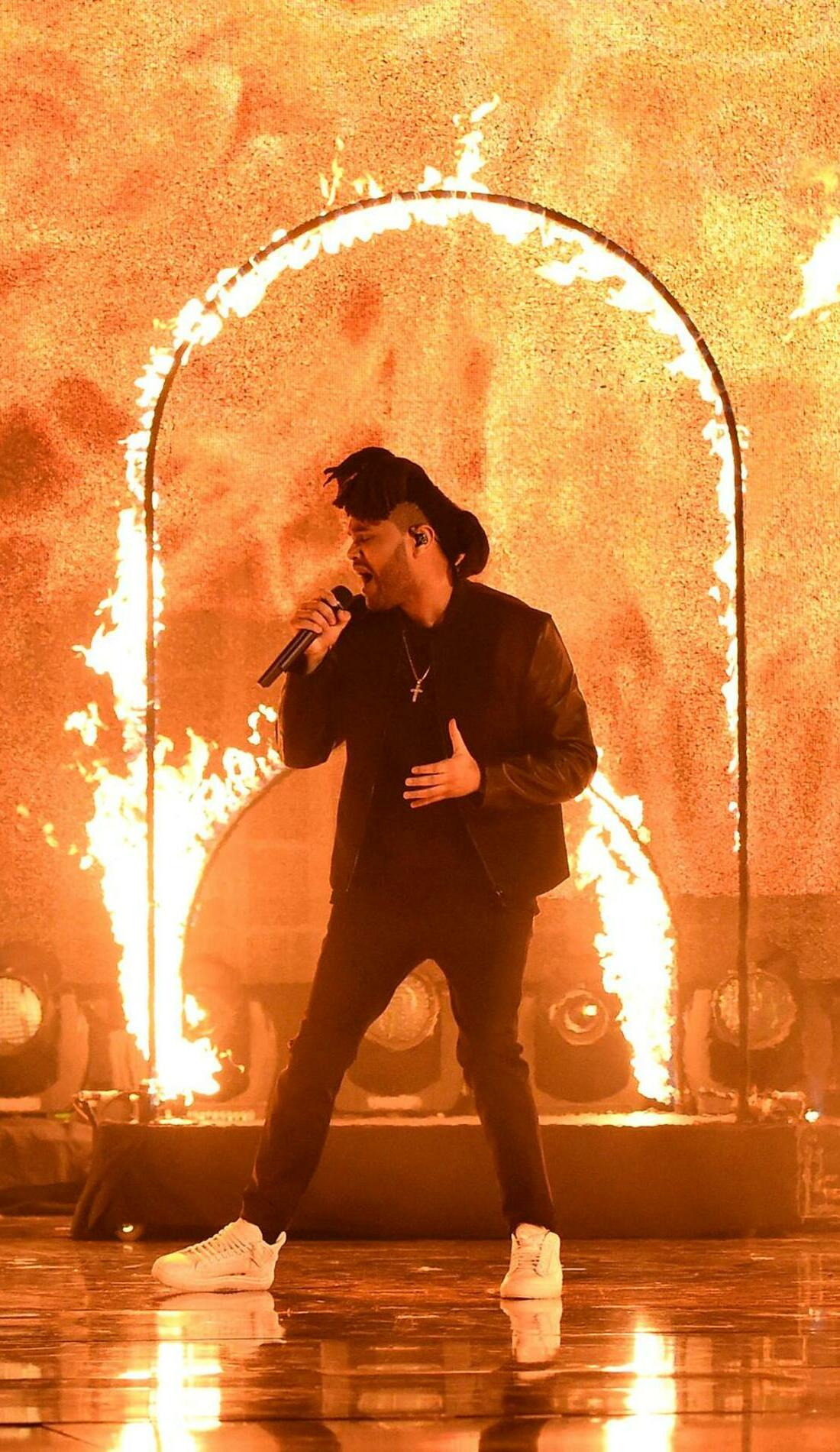 A The Weeknd live event