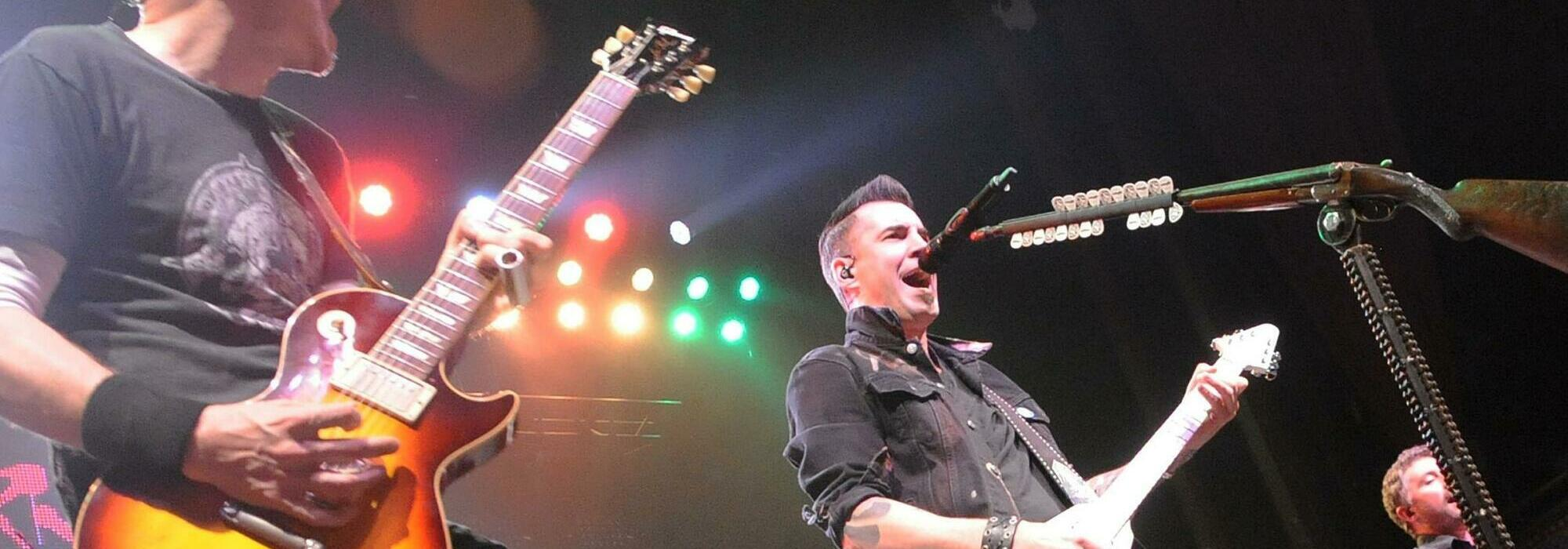 A Theory Of A Deadman live event