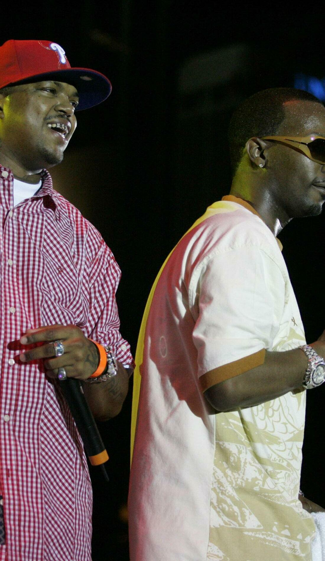 A Three 6 Mafia live event