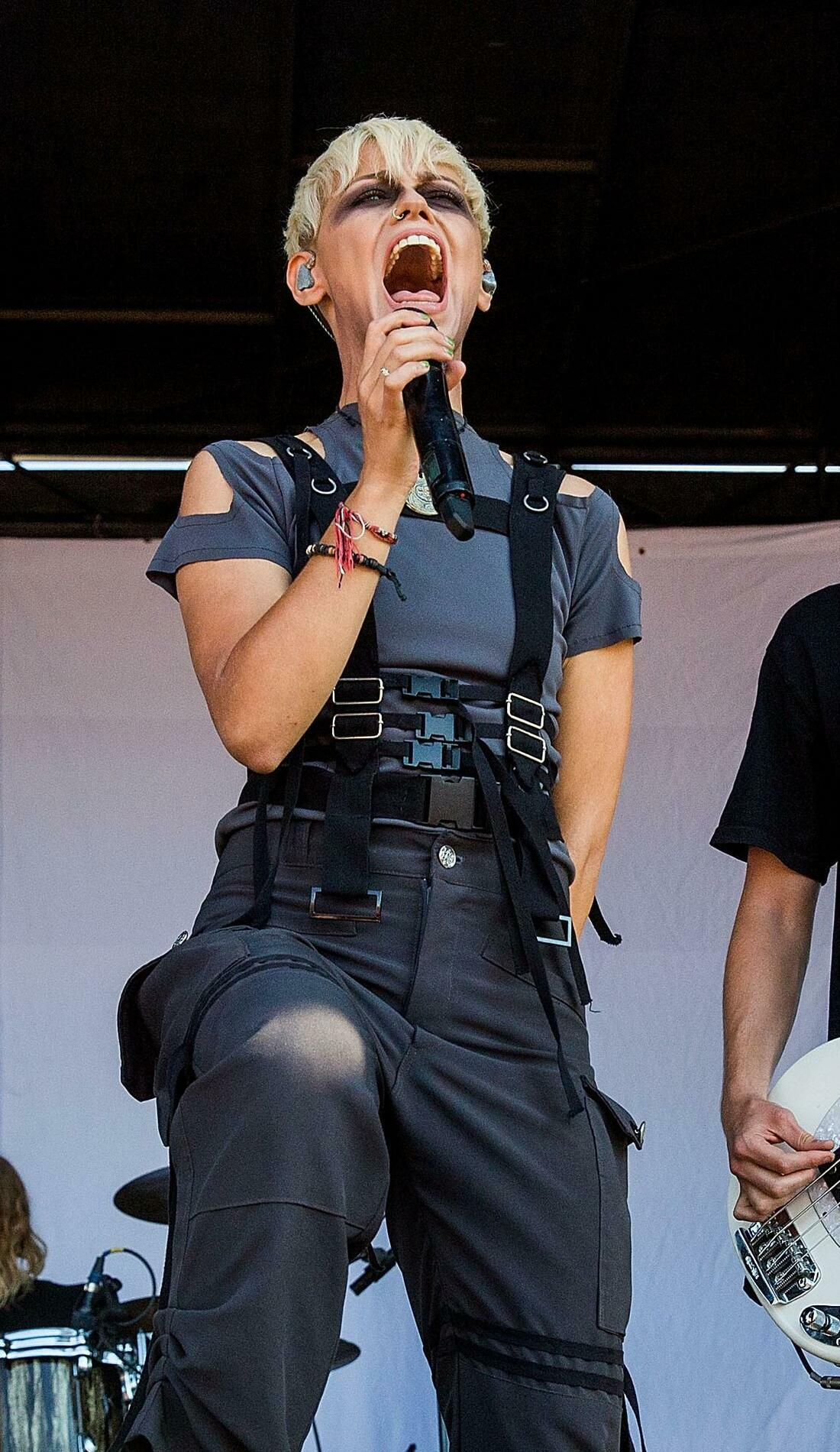 A Tonight Alive live event
