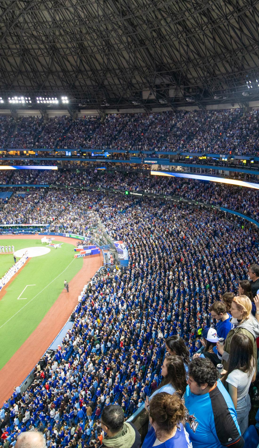 A Toronto Blue Jays live event