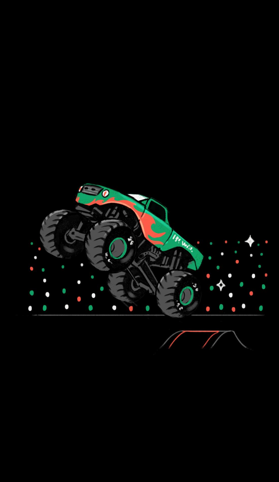 A Toughest Monster Trucks live event