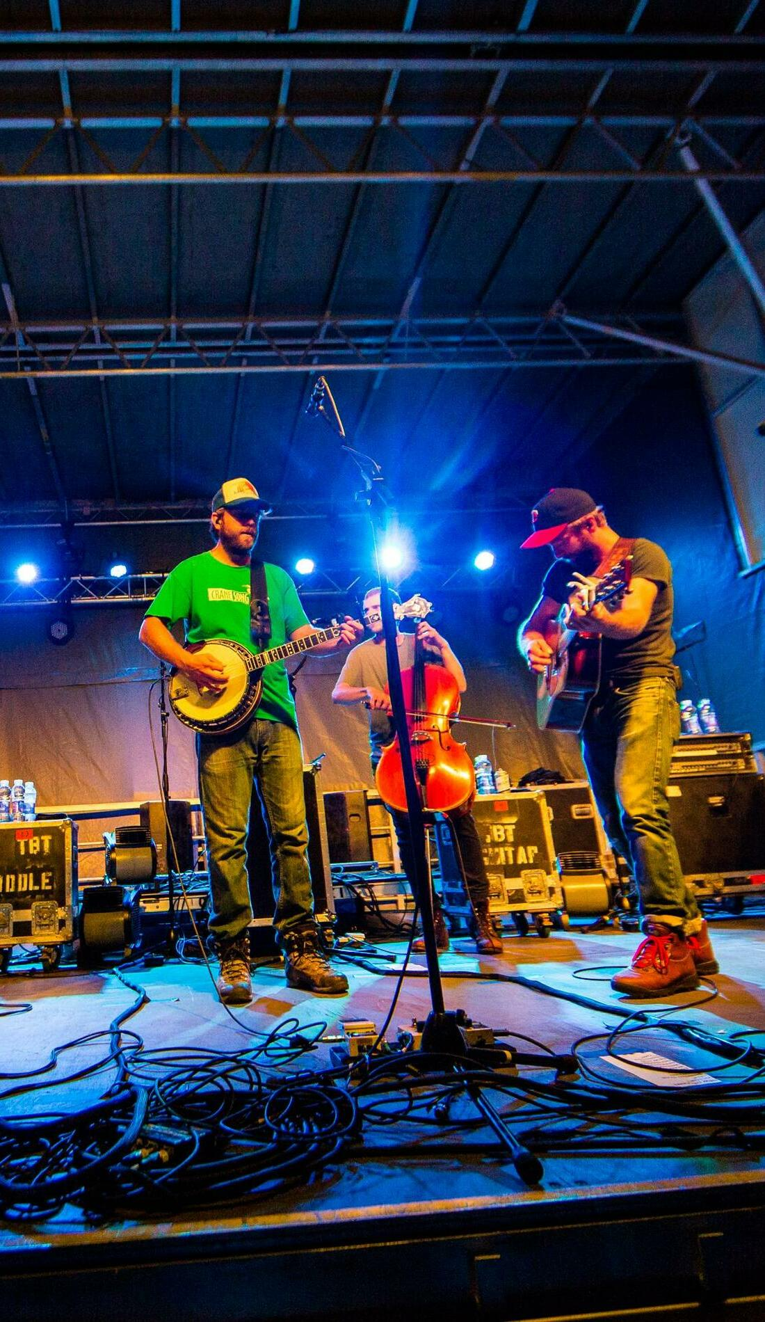 A Trampled by Turtles live event
