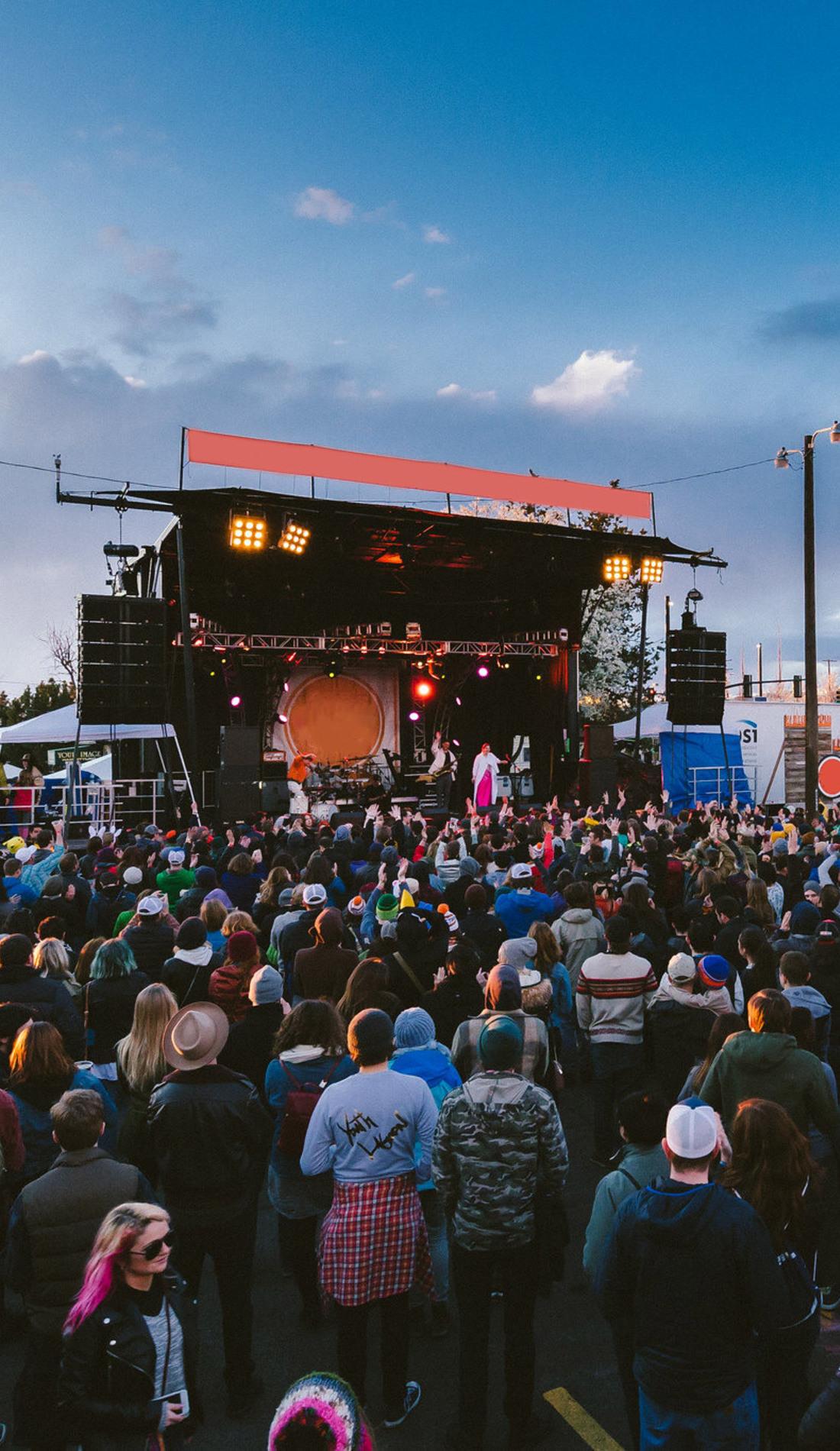 A Treefort Music Fest live event