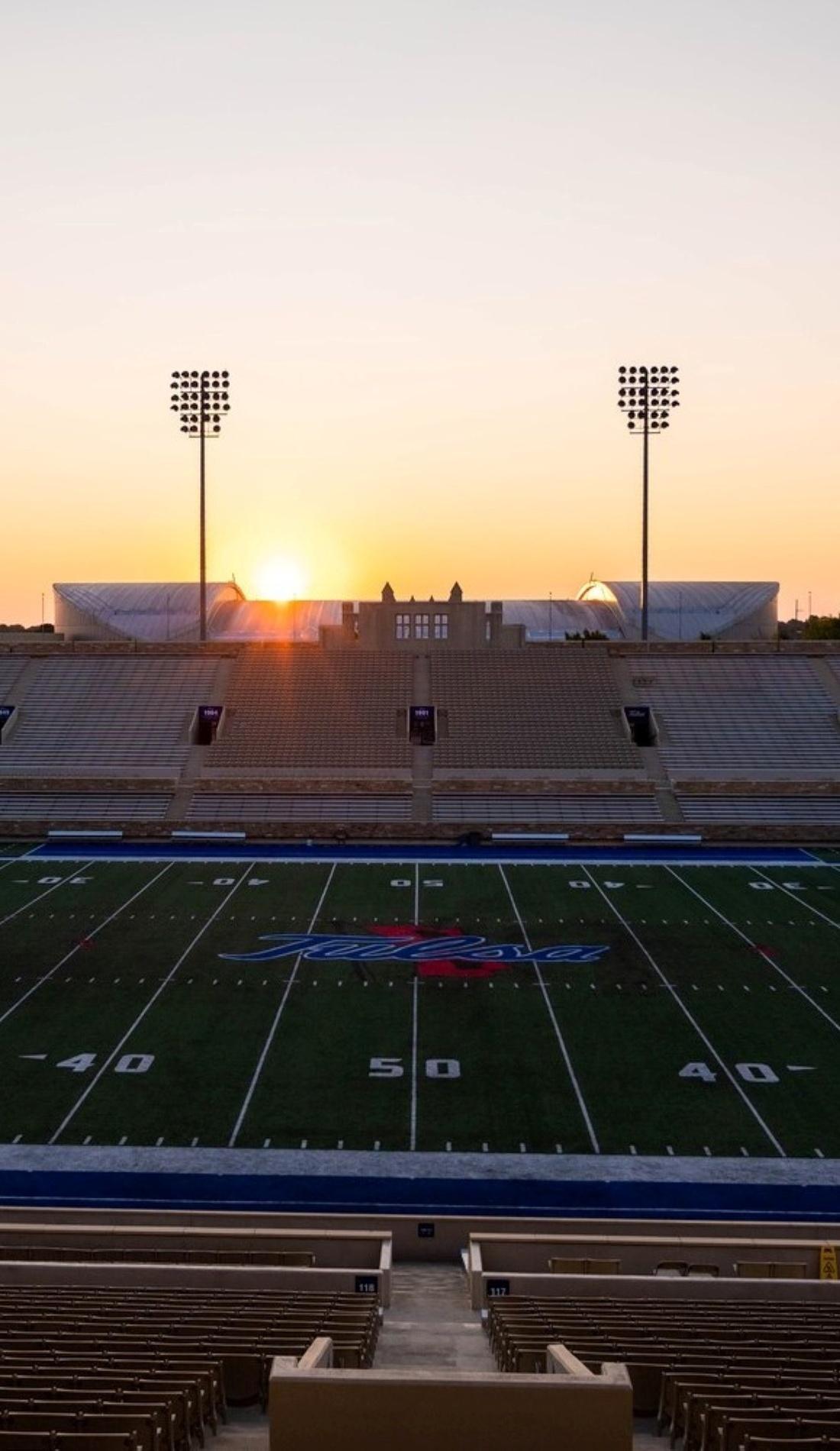 A Tulsa Golden Hurricane Football live event
