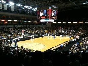 UCF Knights at Wichita State Shockers Basketball