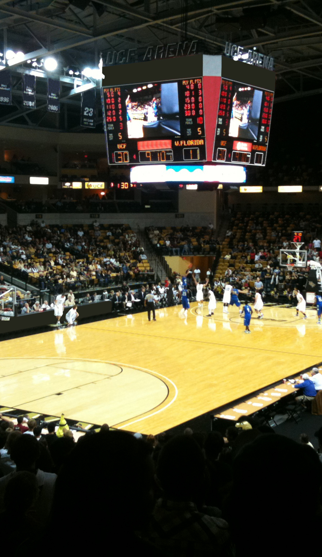 A UCF Knights Basketball live event