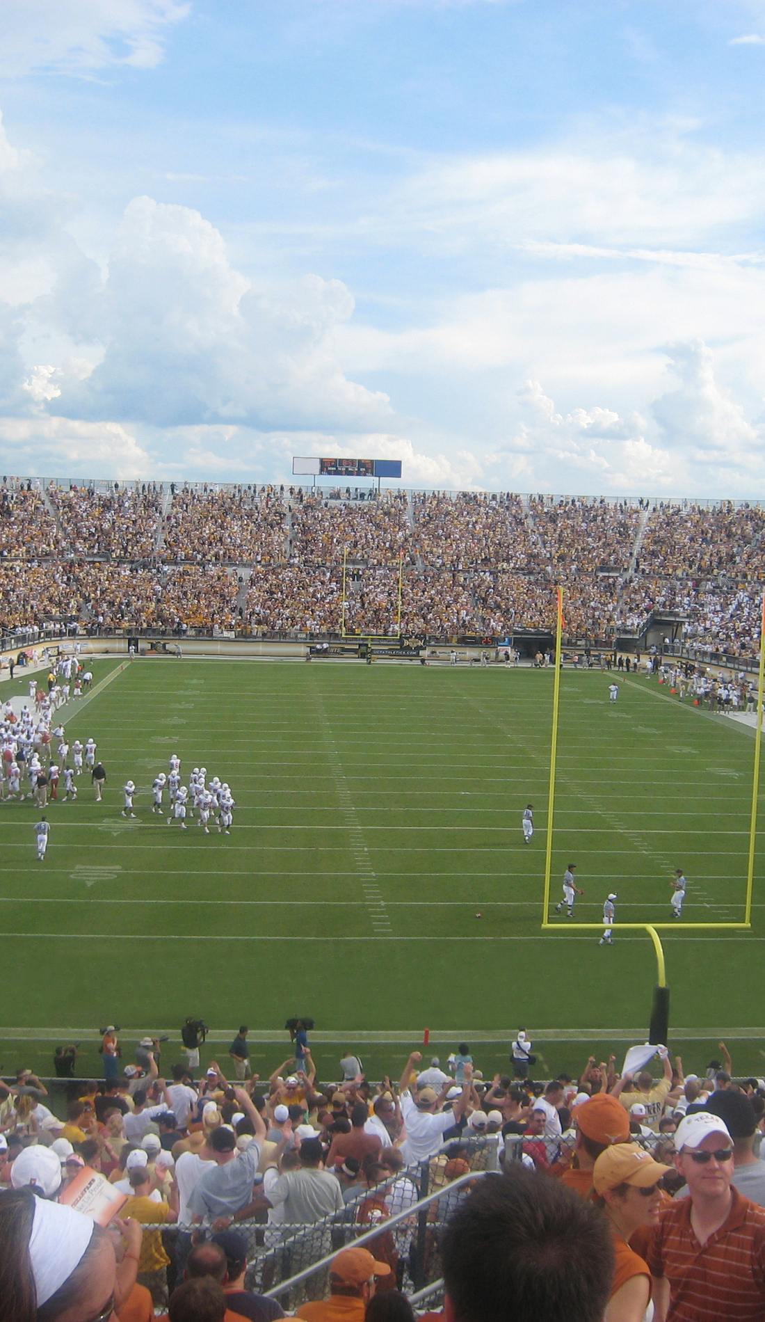 A UCF Knights Football live event