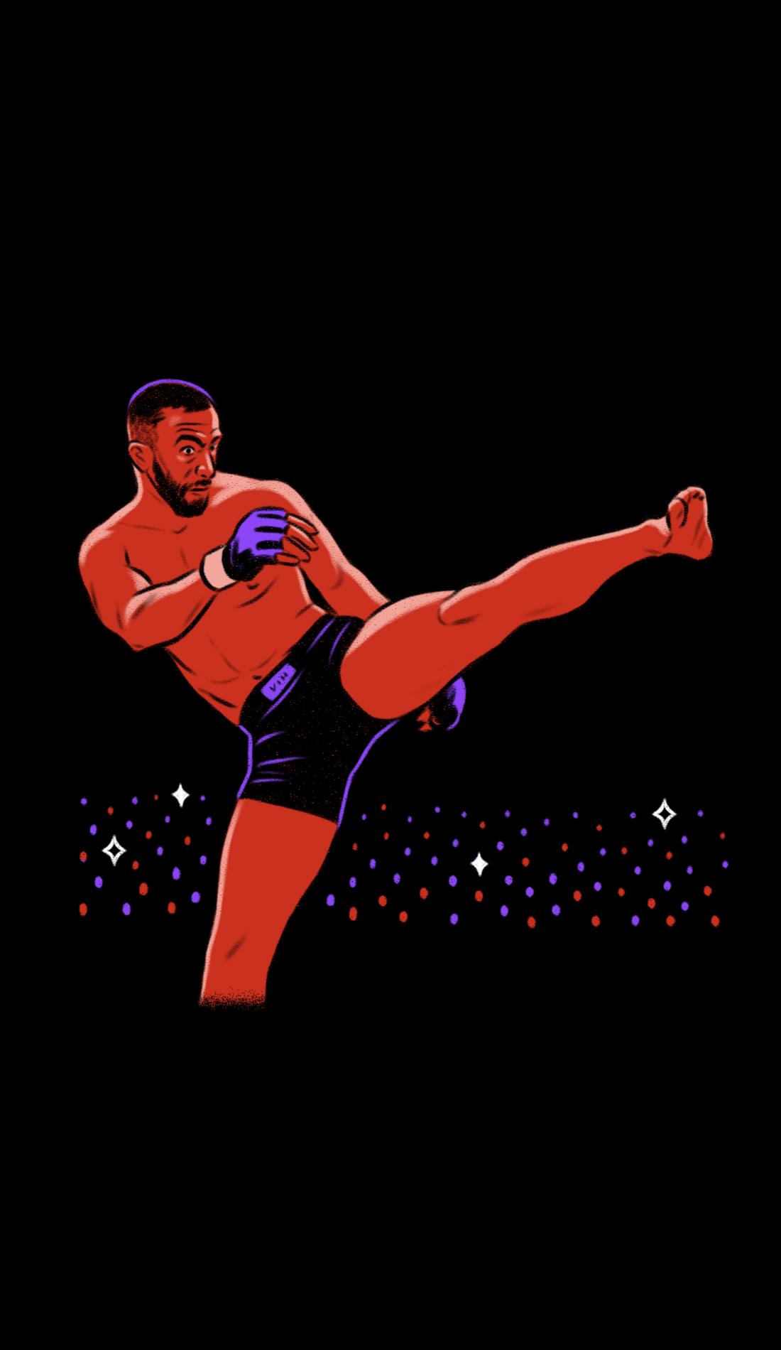 A UFC Fight Night live event