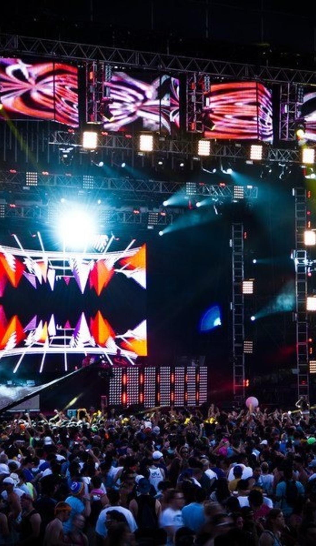 A Ultra Music Festival live event