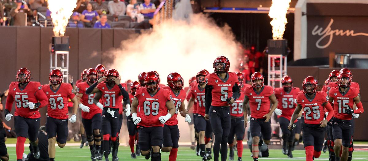 Louisiana Tech Bulldogs at UNLV Rebels Football