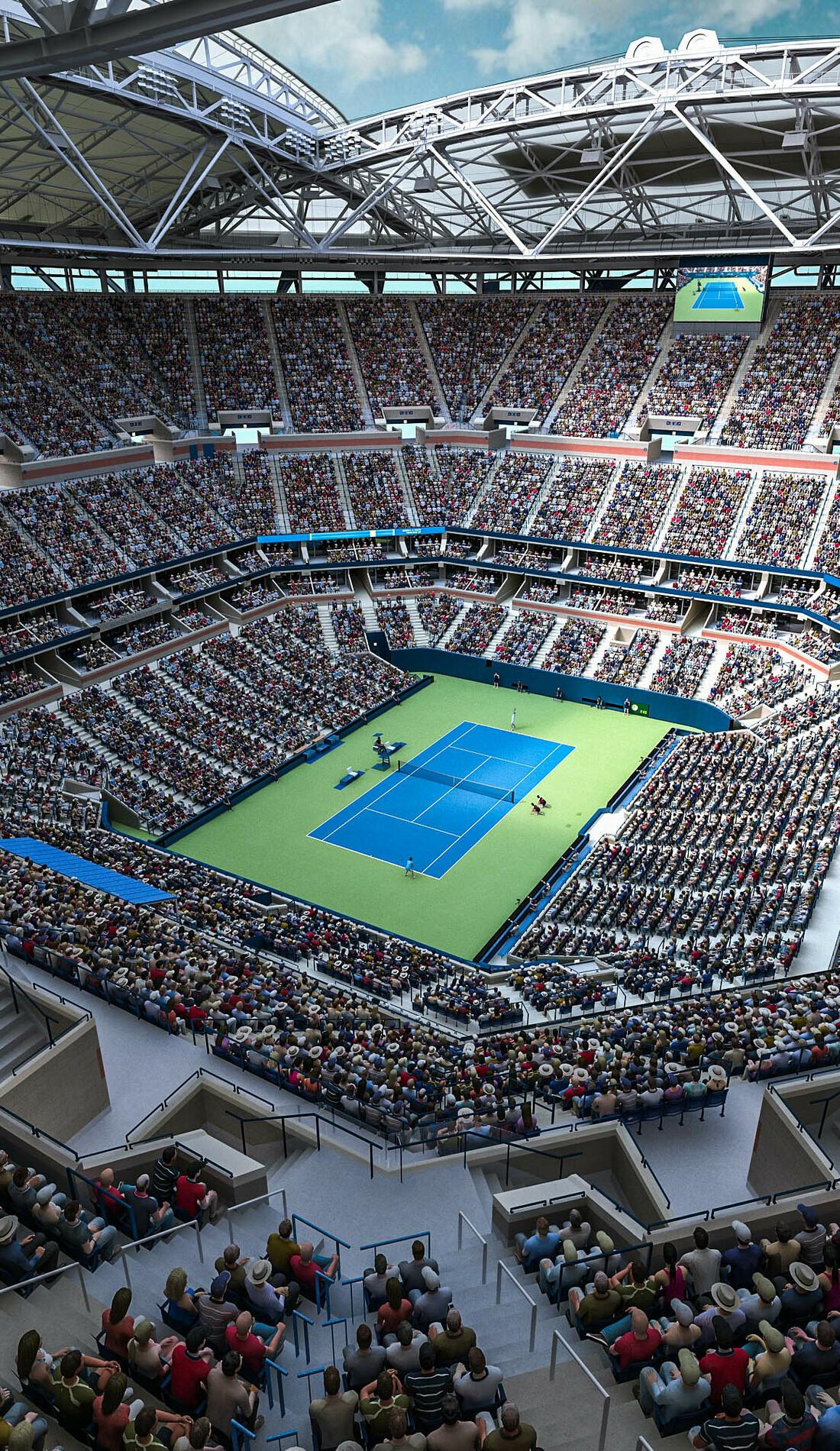A US Open Tennis live event