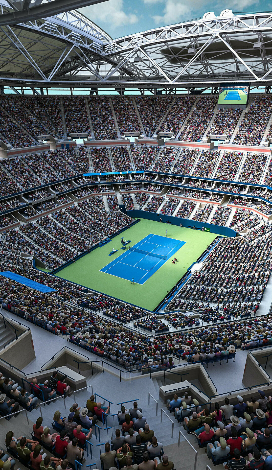 A US Open Tennis live event