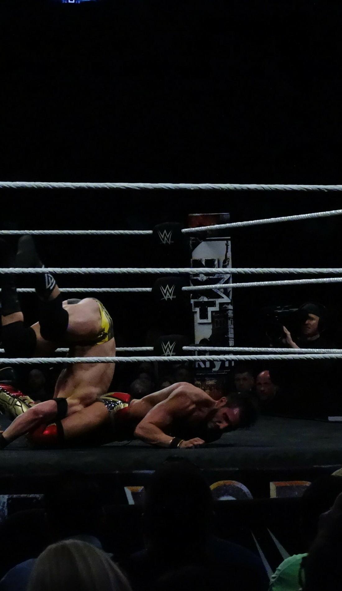 A USA Wrestling live event
