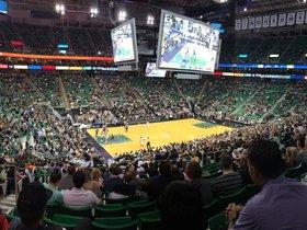 First Round: Utah Jazz at Houston Rockets - Game 5