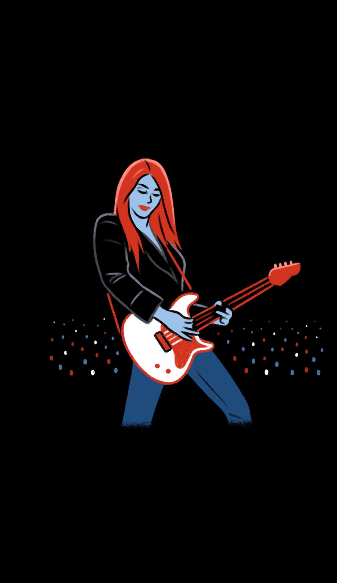 A V.V. Lightbody live event