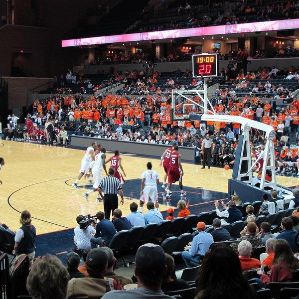 Syracuse Orange Basketball Seating Chart Map Seatgeek
