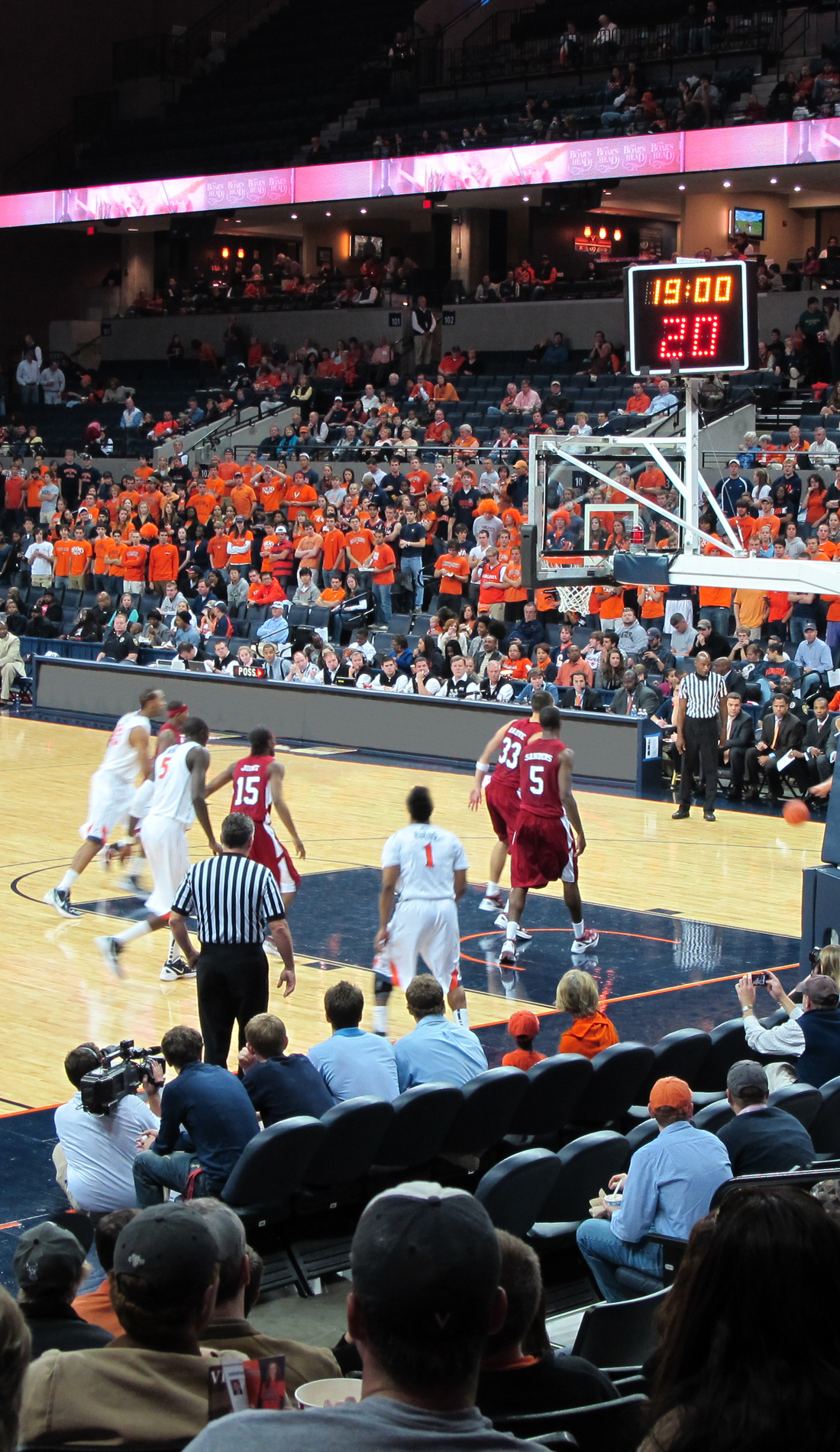 A Virginia Cavaliers Basketball live event