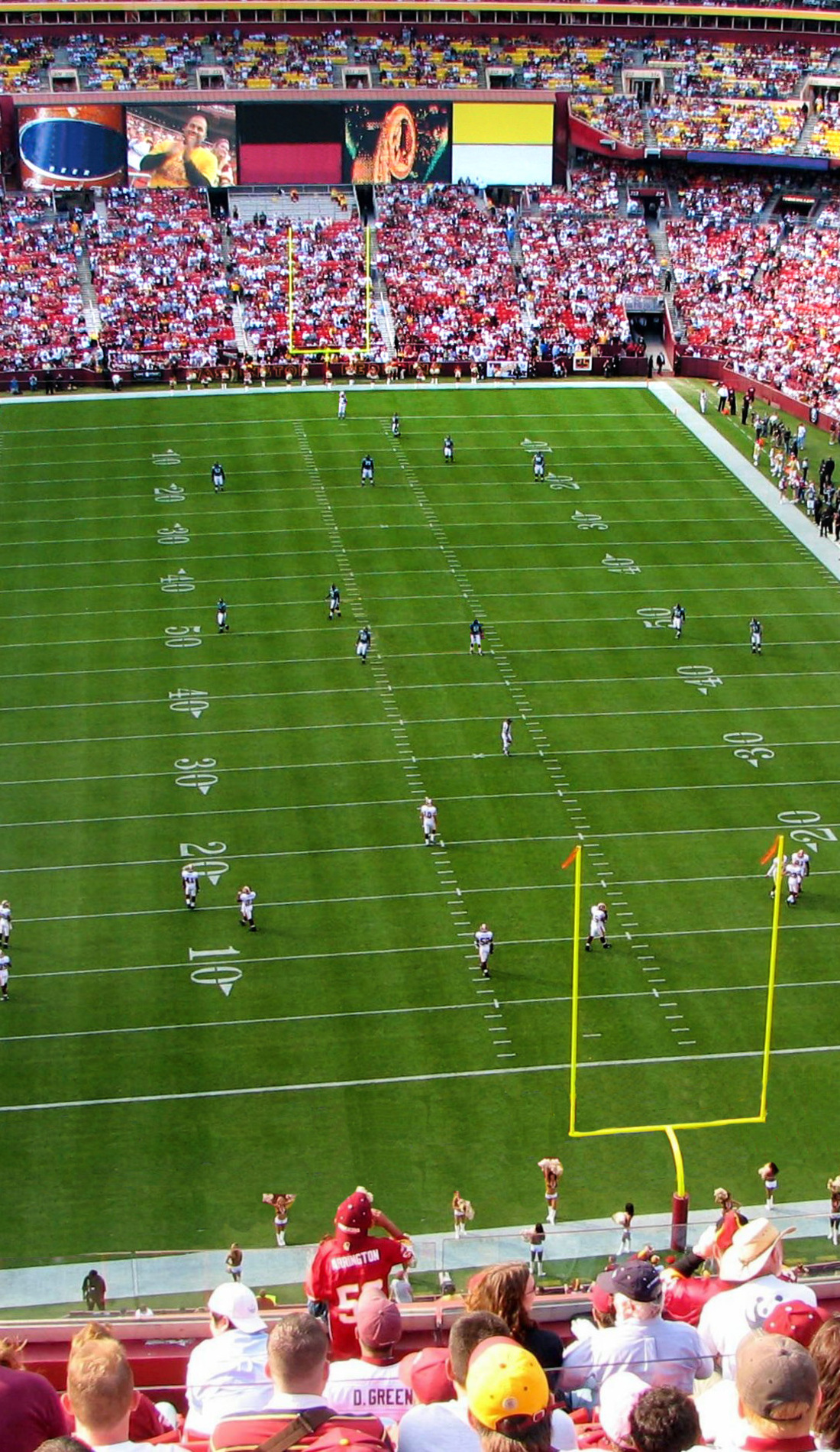 A Washington Football Team live event