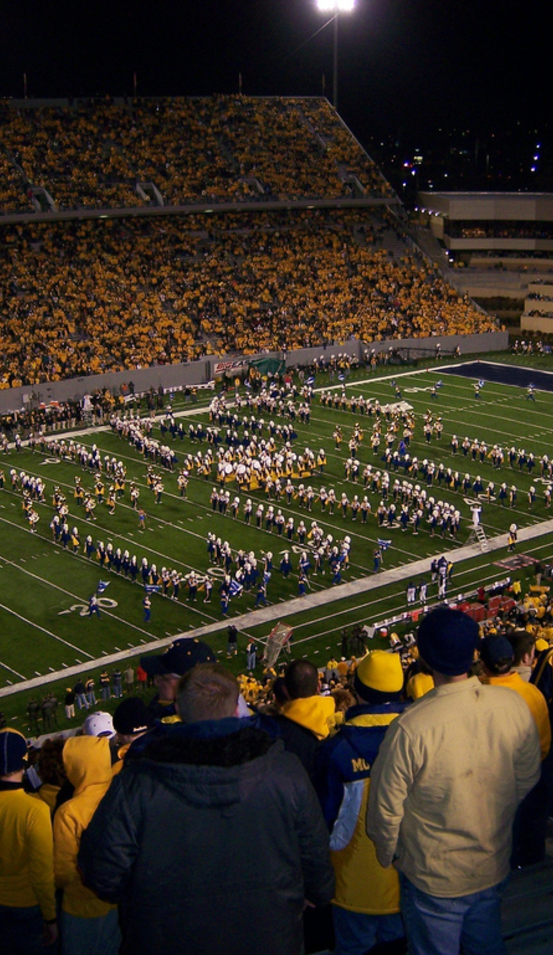 A West Virginia Mountaineers Football live event