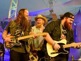 Cody Jinks with Whitey Morgan and Whitey Morgan and the 78's
