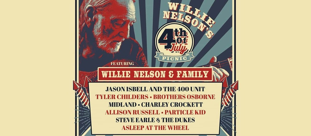 Willie Nelson's 4th of July Picnic Tickets