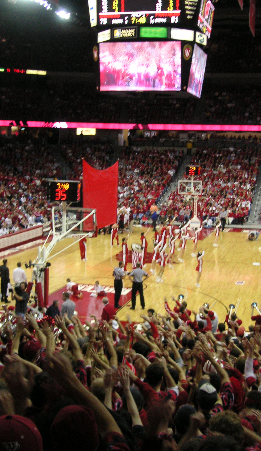 A Wisconsin Badgers Basketball live event