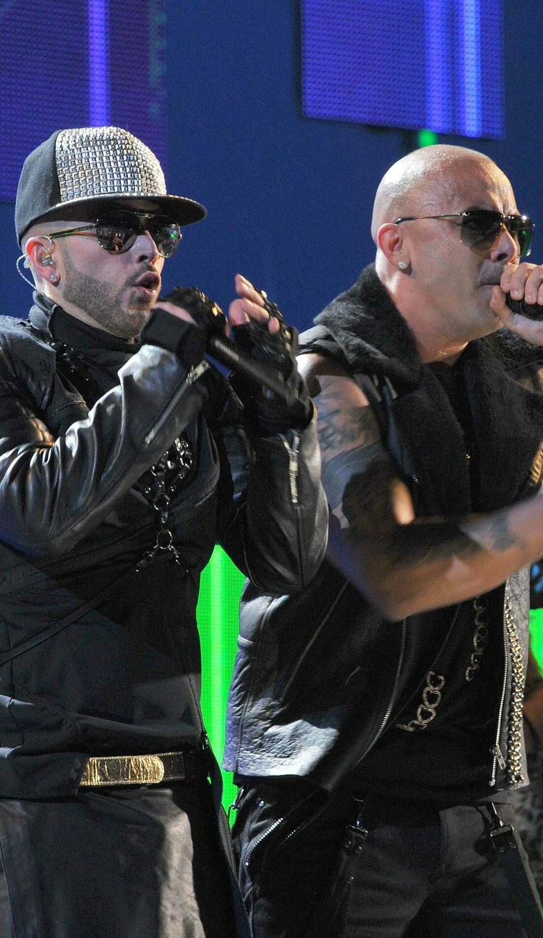 A Wisin Y Yandel live event