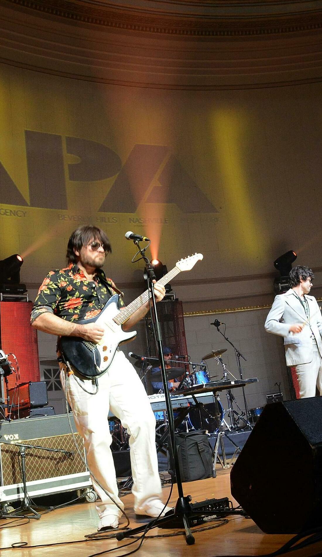 A Yacht Rock Revue live event