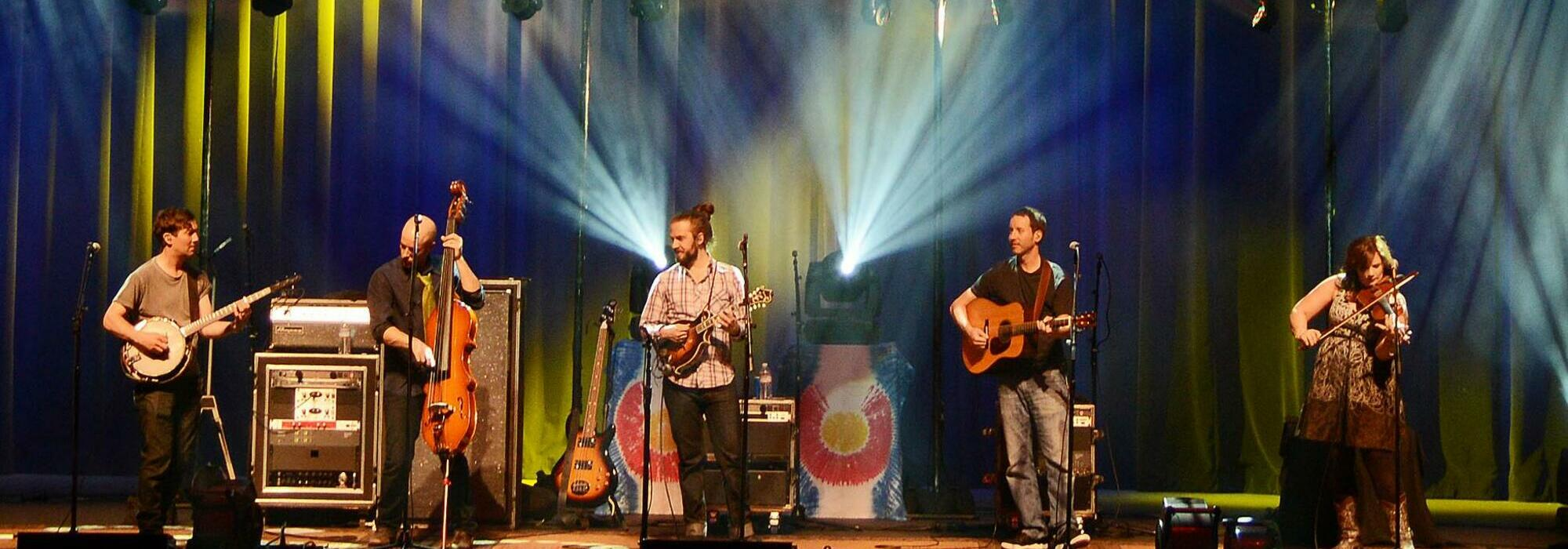 A Yonder Mountain String Band live event