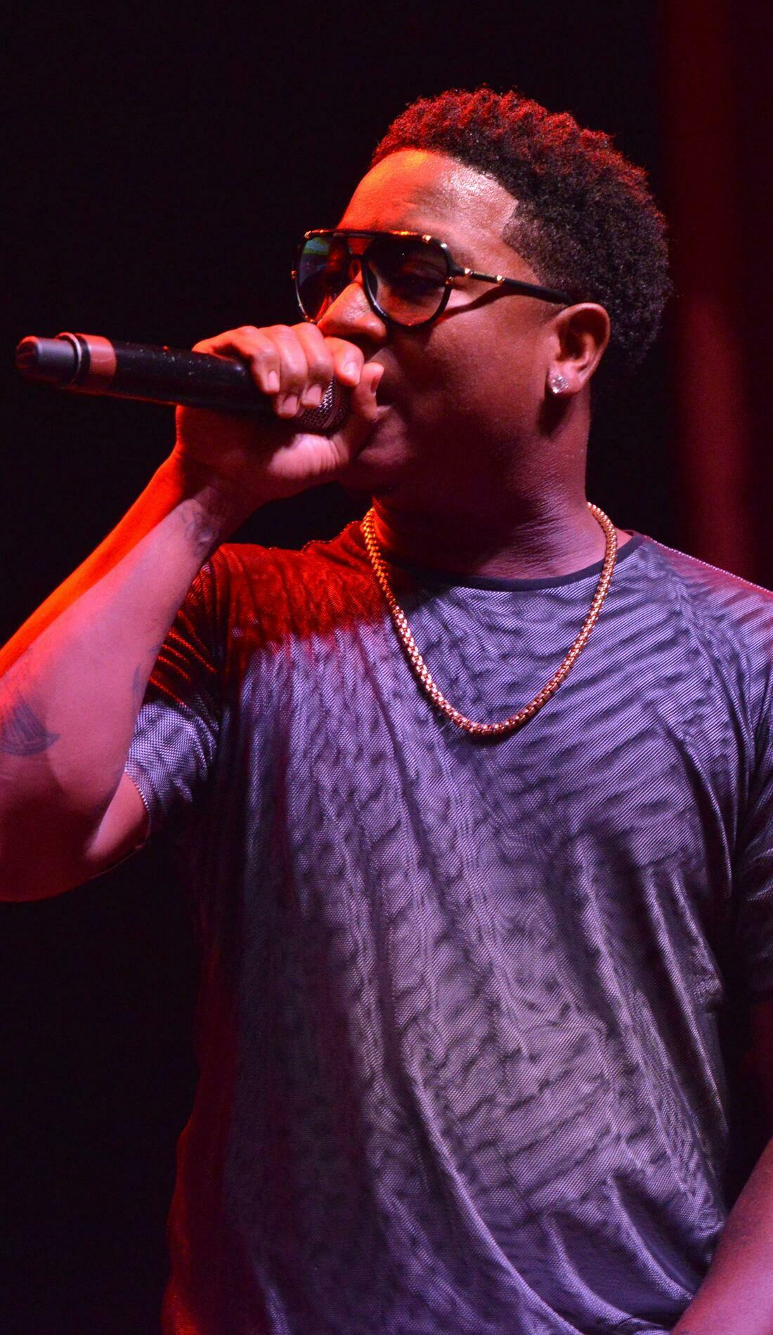 A Yung Joc live event